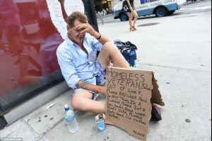new york 2015 - four thousand sleeping on the streets, 80 homeless encampments