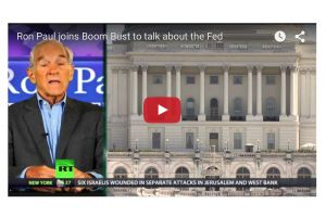 ron paul talk's about the fed