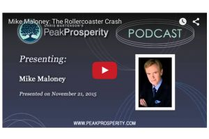 mike maloney: the rollercoaster crash - interview by adam taggart