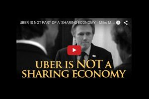 uber is not part of a 'sharing economy' - mike maloney