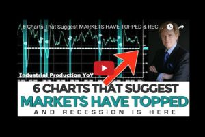6 charts that suggest markets have topped & recession is here - mike maloney