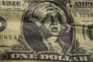 the us dollar has suffered one of the sharpest drops in 20 years