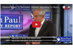 obama caves to neocons - military spending to skyrocket