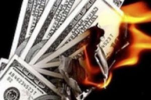 $100 trillion up in smoke