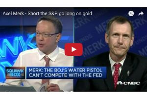 short the s&p - go long on gold