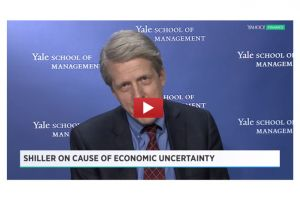 robert shiller identifies one of the source's of the world's problems today